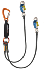 Heightec L2T150B ELITE 1.5mtr Twin STEPLOCK Lanyard