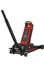 Sealey 2500LE 2.5tonne Low Entry Trolley Jack with Rocket Lift