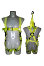 Abtech Safety ABRESHV Hi Vis Rescue Harness