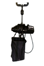 Inverted chainhoist 500kg 110 volt c/w bag