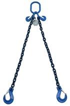 Special Offer  tonne Grade 100 x 1mtr 2-Leg Chainsling c/w Latch Hooks