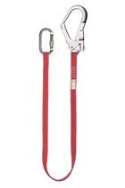 Clearance 1mtr Restraint Webbing Lanyard c/w Scaffold Hook