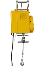 Electric Wire Rope Hoist 300kg, 240volt x 12mtr HOL