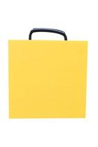 Hi-viz 400x400x30mm Square Outrigger Pad