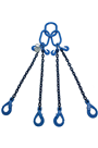 4 Leg Chain Slings | 3 1 to 67 Tonne Lifting Chains
