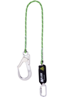 Miller 1032380 Edge Tested Kernmantel 2mtr Shock Absorbing Lanyard c/w Scaffold Hook