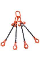 Weissenfel 3.15 tonne 4Leg Chainsling c/w Safety Hooks