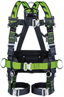 Miller 1033538 Bodyfit H-Design Size 3 2pt Full Body Harness 2 Loops