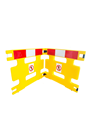 Addgards Handigard 2-panel Red/White Safety Barrier