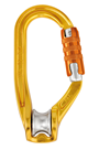 PETZL P74TL Rollclip Triact Lock Pulley Carabiner