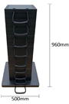 Eco-Stak Mix Kit 5 Stackable Jacking Blocks
