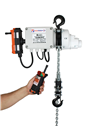 Radio Controlled Electric hoist 250kg, 240 volt c/w bag.