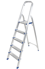 Aluminium Foldable Step Ladder 5 tread