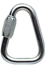 PETZL DELTA 10mm Triangular Steel Quick Link