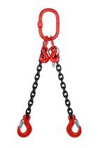 2.1 tonne 2Leg Chainsling, Adjustable and c/w Latch Hooks