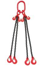 Special Offer 3.15tonne 4Leg Chainsling x 1mtr c/w Latch Hooks