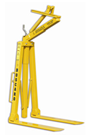 Crane Forks 2 tonne, Adjustable Self Balancing.