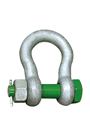 Green Pin 9.5ton Alloy Bow Shackle Safety Pin