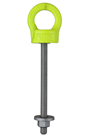 Fall Arrest Eyebolt Long Shank, Available in Either M12 or M16