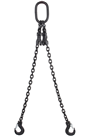 2.1 tonne Black Chainsling 2 Leg, Latch Hook