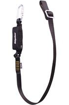 Ridgegear RGL13 Single Leg Adjustable Webbing Lanyard & Shock Absorber