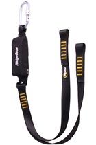 Ridgegear RGL3 Twin Leg Webbing Lanyard & Shock Absorber