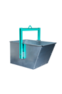 Imer 90ltr Hoist Tipping Bucket