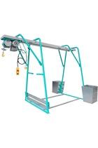 IMER 500kg 110volt Builders Gantry Hoist