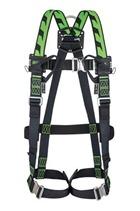 Miller 1032872 Duraflex H-Design Size 2 2pt Full Body Harness 2 Loops