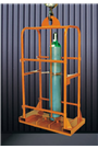 Gas Bottle Carrying Cage - 4x mixed
