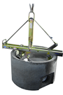 Probst SVZ-ECO Manhole and Cone Installation Clamp