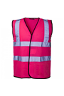 Pink Hi Viz Waist Coat - Sizes S, M, L & XL - High Visibility