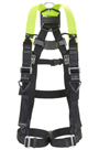 Miller H500 Industry Standard 2 Point Full Body Harness
