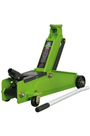 Sealey 1153CXHV 3tonne Long Chassis Heavy Duty Trolley Jack - Hi-Vis