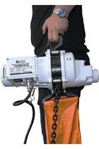 Electric hoist 250kg, 110 volt c/w bag.