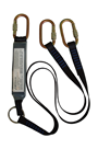 Abtech Safety ABLTW1.5 1.5mtr Twin Fall Arrest Lanyard