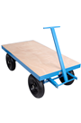 1000kg Site Trolley Truck with Solid Wheels