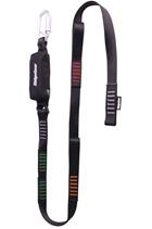 Ridgegear RGL30 Single Leg Webbing Tie Back Lanyard & Shock Absorber