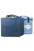 Pack of 4x 300x300x25mm Flat Motorhome Pads
