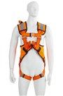 P30 2 Point  Full Safety Harness + High Viz (ORANGE)