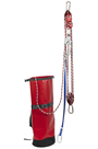 IKAR IKGBPCL15 15mtr Pre-rigged Rescue Pulley System with 1way Locking Cam