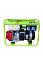 Pramac E6900 6kVa 230v/115v Honda Petrol Generator