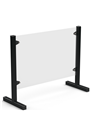 Freestanding Covid-19 Protection Screen 50x50cm