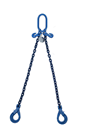 Special Offer 3.5tonne x 3mtr Grade 100 2 Leg Chainsling c/w Safety Hooks