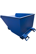 500ltr Teleskip 2000kg SWL Forklift Tipping Skip