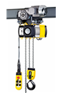 YALE 1000kg 3phase Electric Hoist c/w Powered Trolley