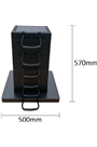 Eco-Stak Mix Kit 3 Stackable Jacking Blocks