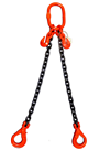 4.25 tonne 2Leg ChainSling,Adjustable & c/w Safety Hooks