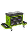 Sealey SCR18G Mechanic's Utility Seat & Toolbox - Green