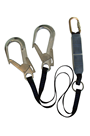 Abtech Safety ABLTW1.5SH 1.5mtr Twin Fall Arrest Lanyard